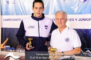 Morelli- Raul Strnad.marca tecnica 100 metros pecho-